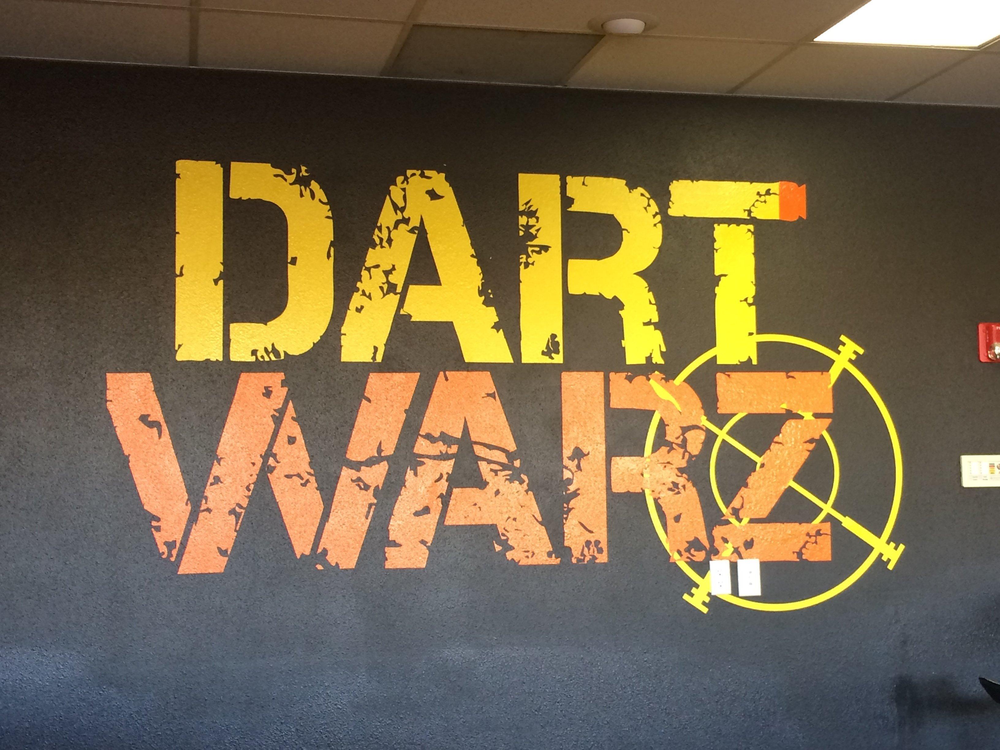 Team Building at Dart Warz